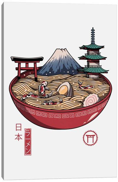 A Japanese Ramen Canvas Art Print