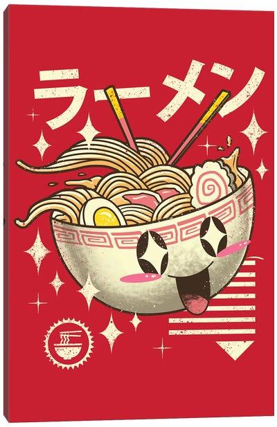 Kawaii Ramen Canvas Art Print