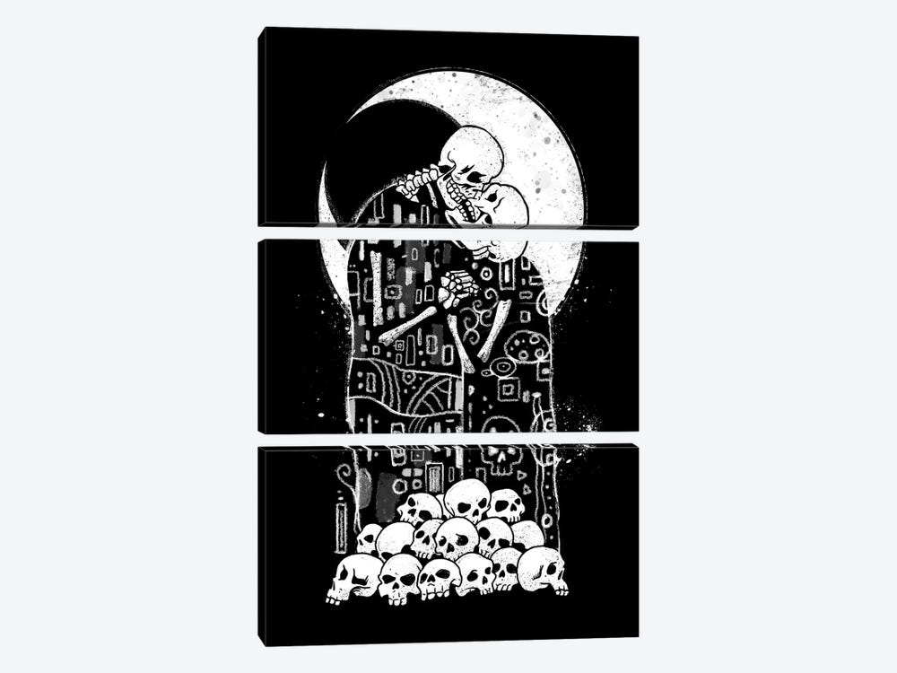 Kiss Of Death by Vincent Trinidad 3-piece Art Print