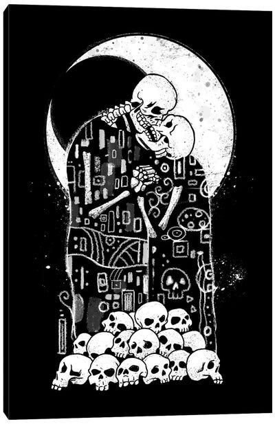 Kiss Of Death Canvas Art Print