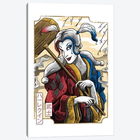 Samurai Quinn Canvas Print #VTR40} by Vincent Trinidad Art Print