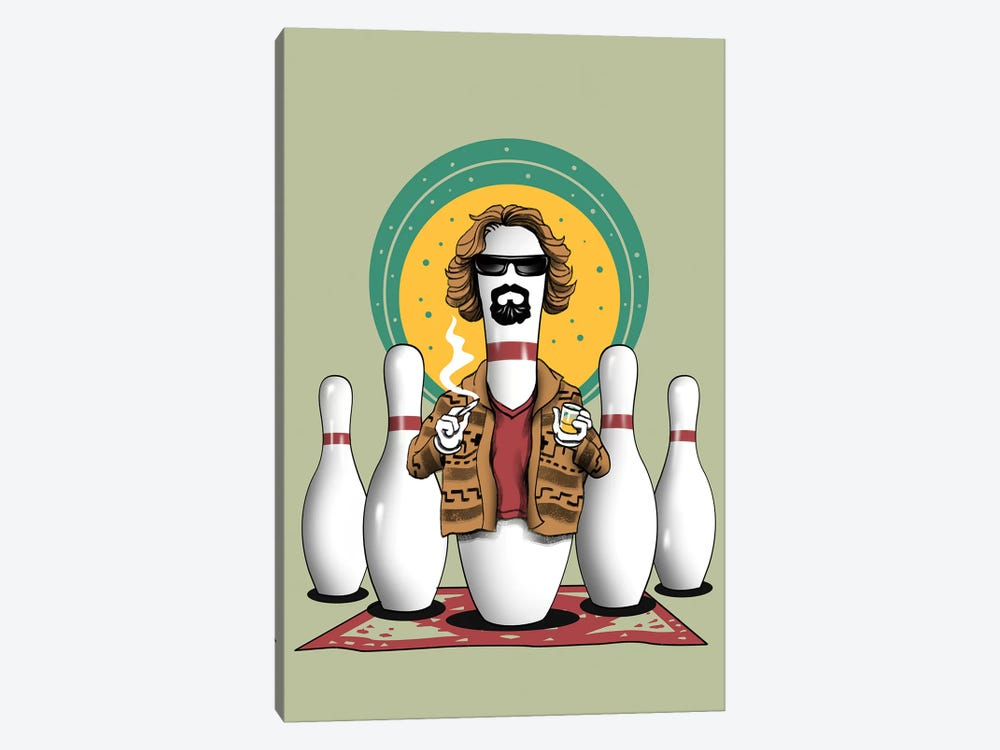 The Pin Lebowski by Vincent Trinidad 1-piece Canvas Wall Art