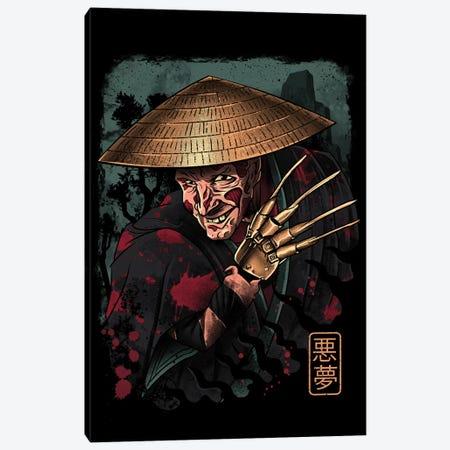 The Samurai Dreamer Canvas Print #VTR50} by Vincent Trinidad Canvas Artwork