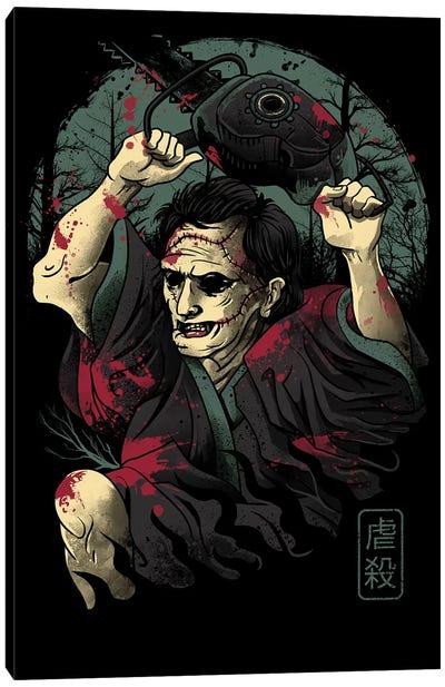 The Samurai Massacre Canvas Art Print