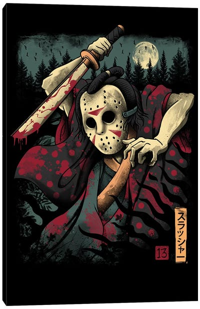 The Samurai Slasher Canvas Art Print
