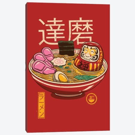 Zen Ramen Canvas Print #VTR55} by Vincent Trinidad Canvas Art Print