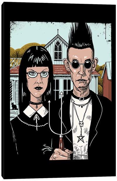 American Goth Canvas Art Print