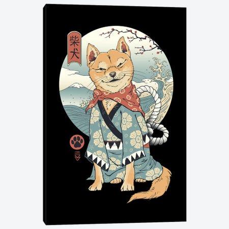 Shiba Inu Canvas Print #VTR62} by Vincent Trinidad Canvas Print