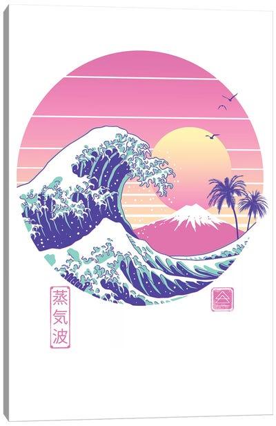 The Great Vaporwave Canvas Art Print
