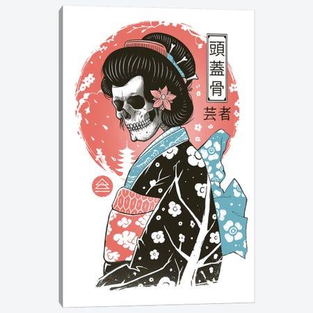 Yokai Geisha Canvas Print #VTR65} by Vincent Trinidad Canvas Wall Art