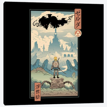 The Legend Ukiyo-E Canvas Print #VTR69} by Vincent Trinidad Canvas Print