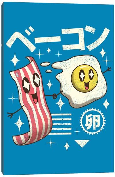 Kawaii Breakfast Canvas Art Print