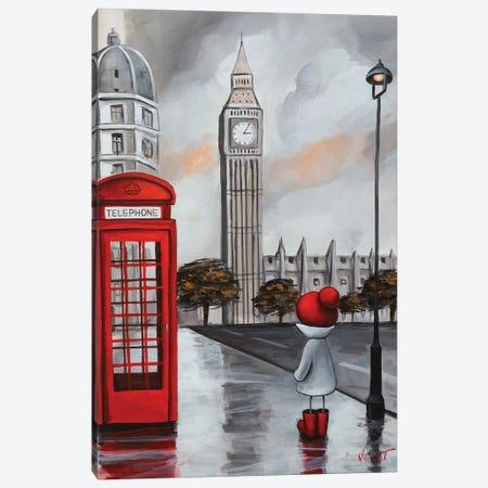 Telephone Canvas Print #VTS13} by Victoria Tsekidou Art Print