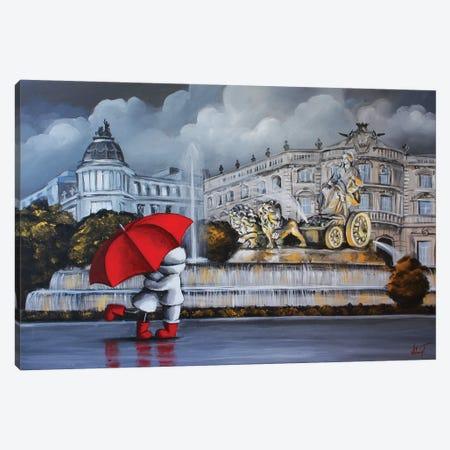 Madrid Canvas Print #VTS8} by Victoria Tsekidou Canvas Art