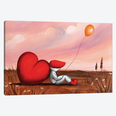 My Big Heart Canvas Print #VTS9} by Victoria Tsekidou Canvas Art