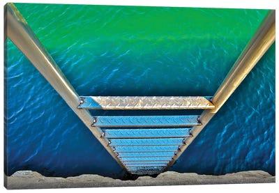 Sea Ladder Canvas Art Print