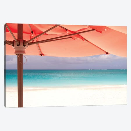 Umbrella Perspective Canvas Print #VVA8} by Verne Varona Art Print