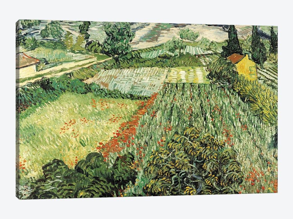 Feld Mit Mohnblumen by Vincent van Gogh 1-piece Canvas Artwork