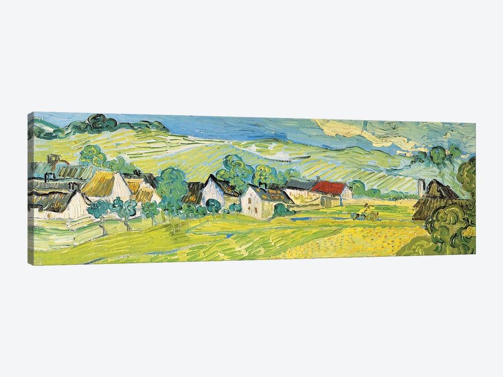 Vue Ensoleille Près D'Auvers by Vincent van Gogh 1-piece Art Print