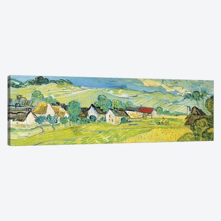 Vue Ensoleille Près D'Auvers Canvas Print #VVG4} by Vincent van Gogh Canvas Art