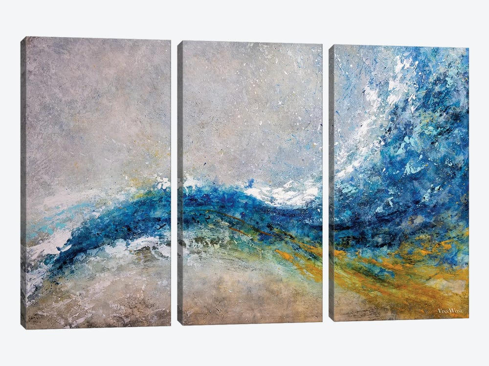 Wonderstorm by Vinn Wong 3-piece Canvas Artwork