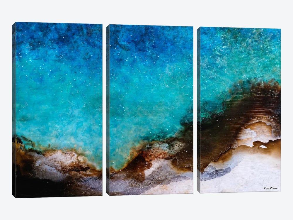 Illusium by Vinn Wong 3-piece Canvas Artwork