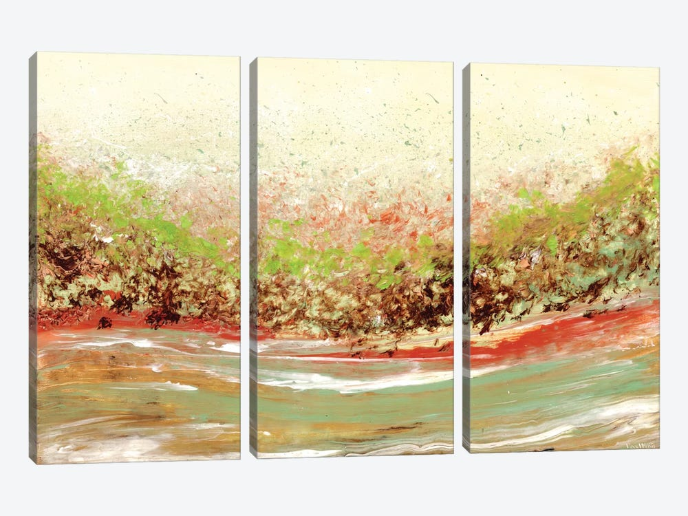 Miasma by Vinn Wong 3-piece Canvas Art