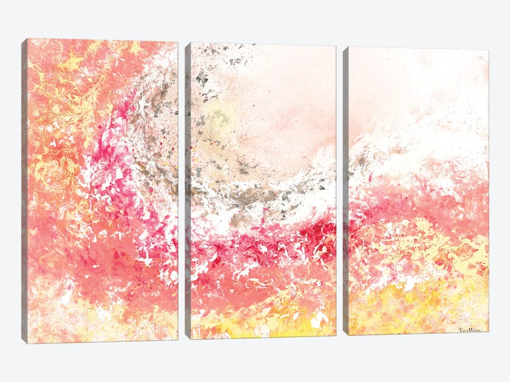 Springtide by Vinn Wong 3-piece Canvas Print