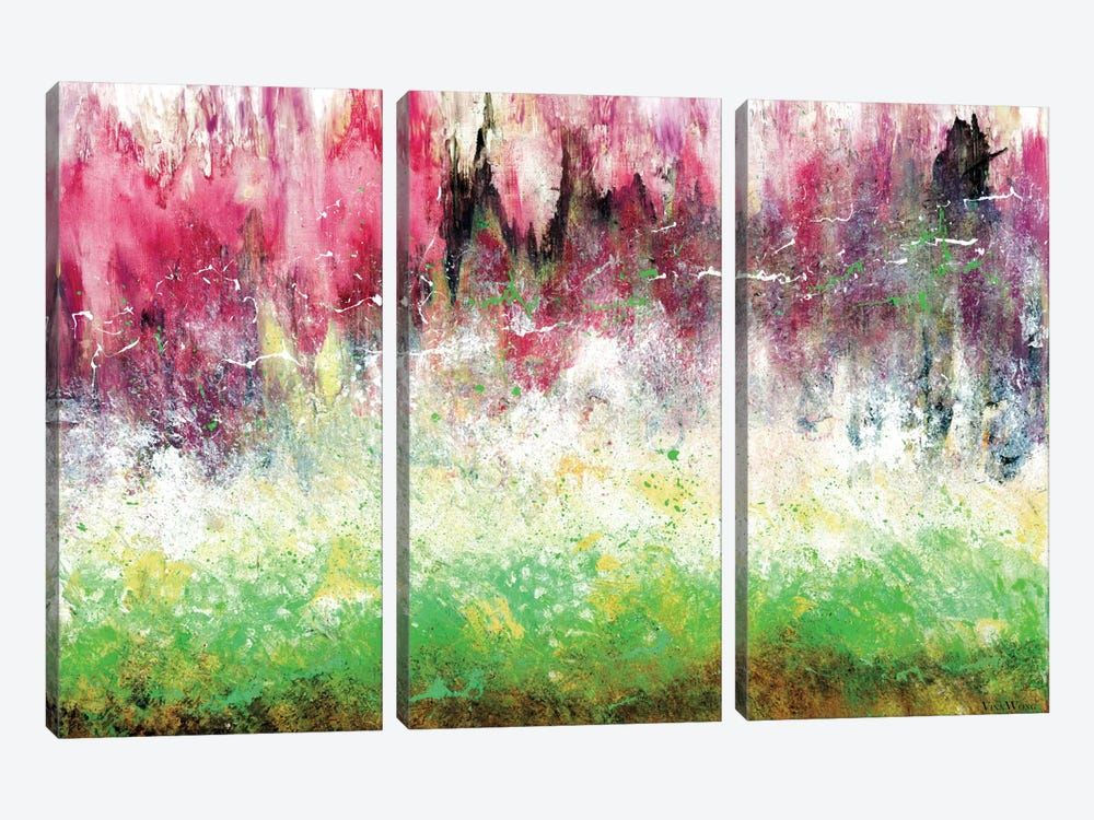 Sweet Dreams by Vinn Wong 3-piece Canvas Artwork