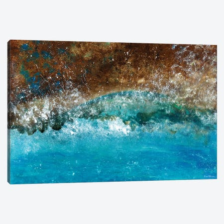 Distant Shores 3-Piece Canvas #VWO22} by Vinn Wong Canvas Art