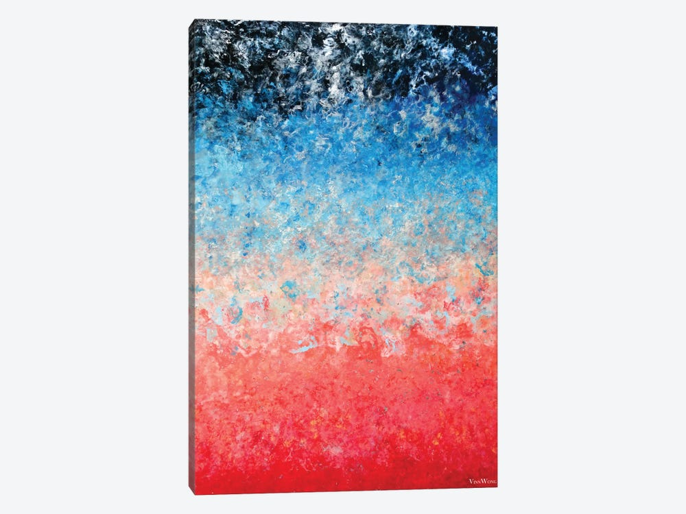 Magical Wildfire 1-piece Canvas Print
