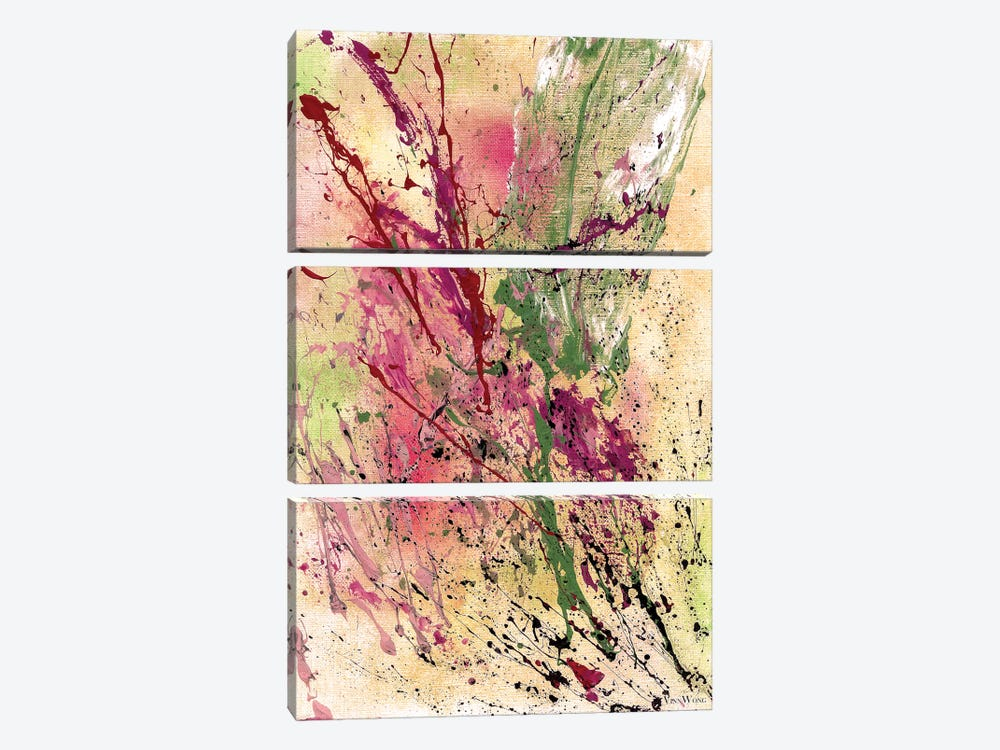 Champagne by Vinn Wong 3-piece Canvas Artwork