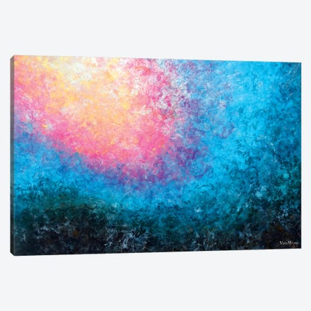 Blooming Tide Canvas Print #VWO51} by Vinn Wong Canvas Art Print