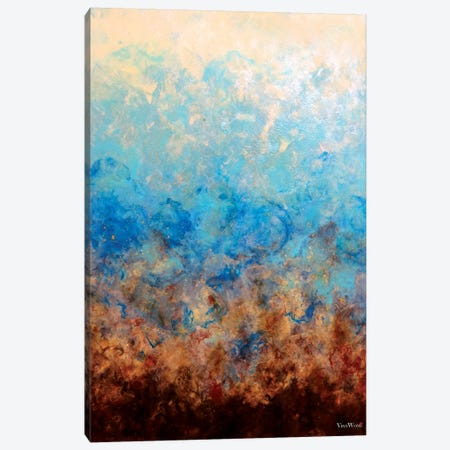 Pacific Aether Canvas Print #VWO53} by Vinn Wong Art Print