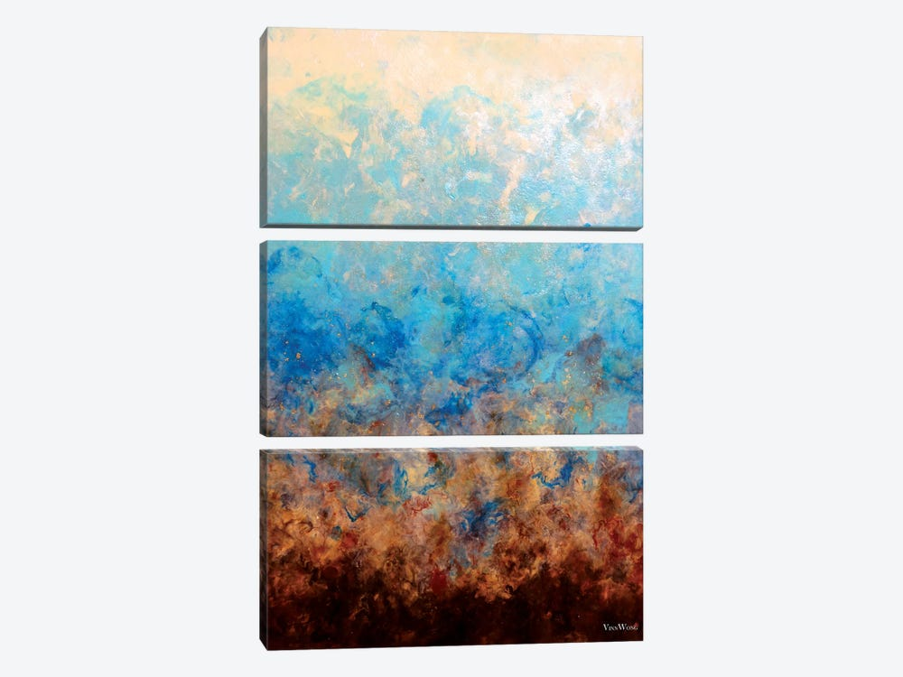 Pacific Aether by Vinn Wong 3-piece Canvas Print