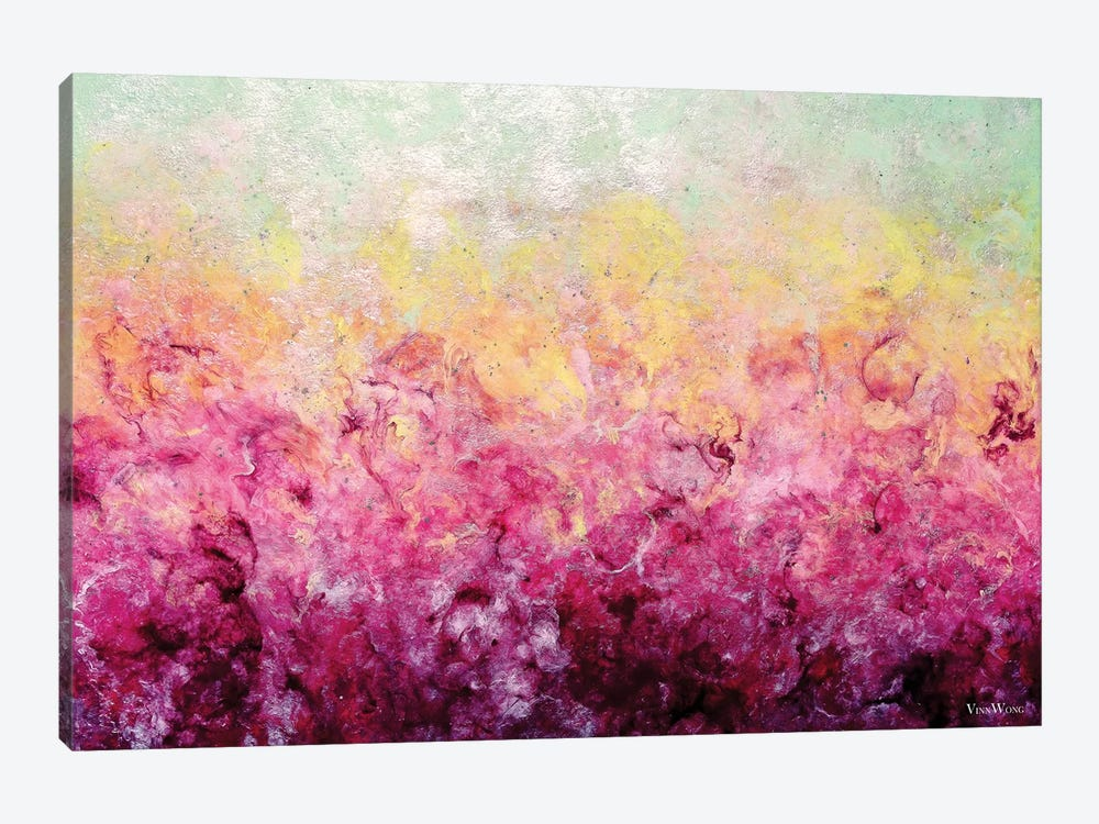 Lover's Plume by Vinn Wong 1-piece Canvas Print