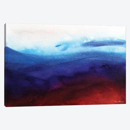Ruby Tides 3-Piece Canvas #VWO60} by Vinn Wong Canvas Art