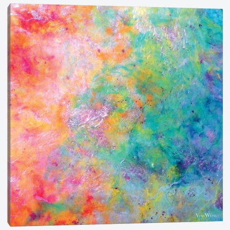 Kiss Of Aether Canvas Print #VWO74} by Vinn Wong Canvas Wall Art