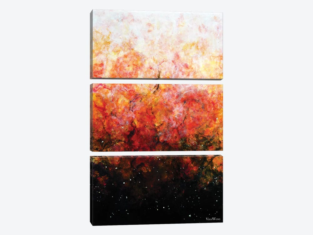 Daybreak by Vinn Wong 3-piece Canvas Artwork