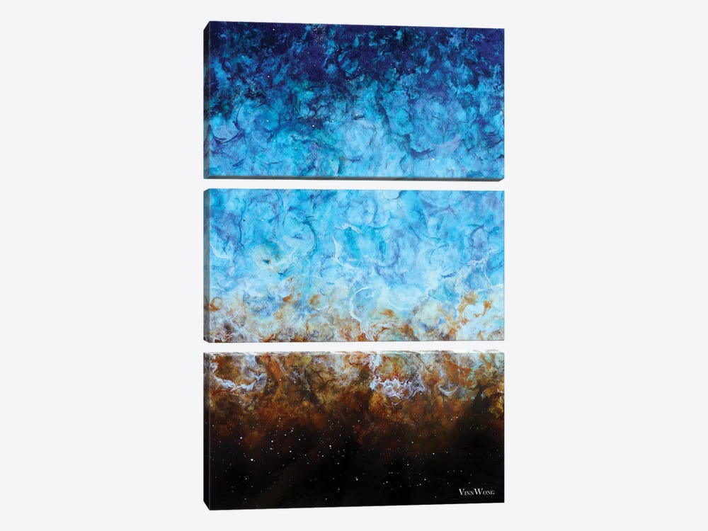 From Sea To Shore by Vinn Wong 3-piece Canvas Artwork