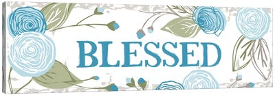 Blessed (Roses) Canvas Art Print