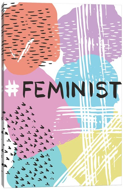 Feminist Canvas Art Print