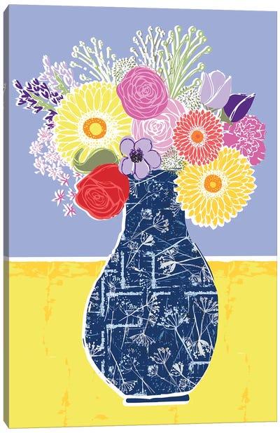 Full Bluem Still Life I Canvas Art Print