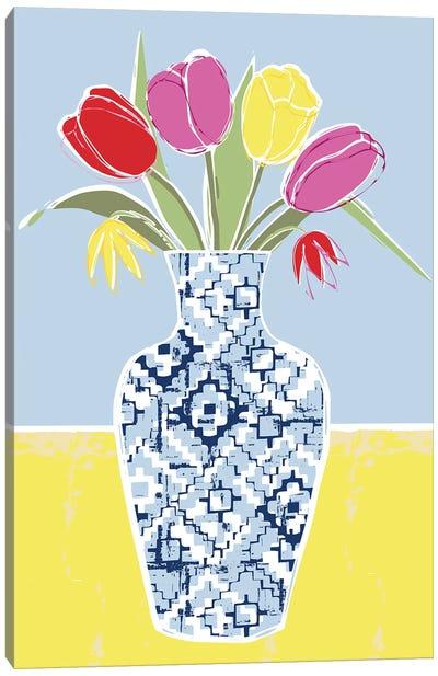 Full Bluem Still Life III Canvas Art Print
