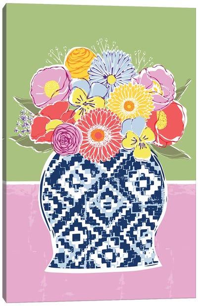 Full Bluem Still Life IV Canvas Art Print