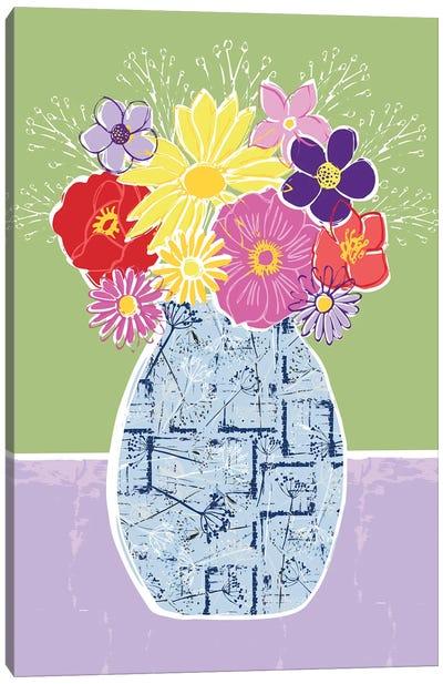 Full Bluem Still Life VI Canvas Art Print
