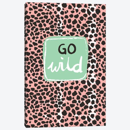 Go Wild Canvas Print #VYO28} by Vicky Yorke Canvas Art Print