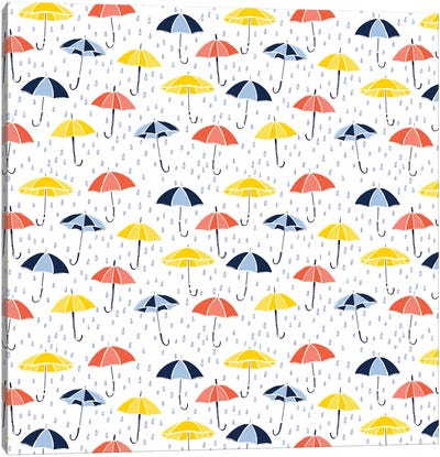 Grab Your Umbrella Canvas Art Print