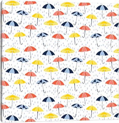 Grab Your Umbrella Canvas Art Print