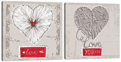Naturally Yours Diptych Canvas Art Print